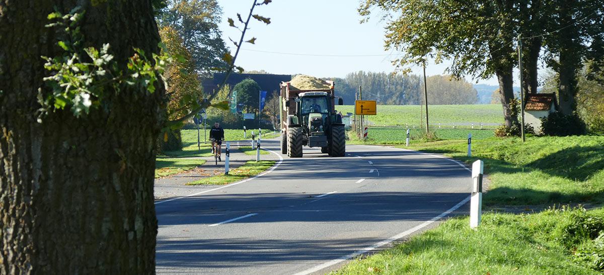 Ein Radweg bringt Sicherheit und entlastet alle!