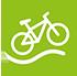 Fahrradweg Allendorfer Straße Logo