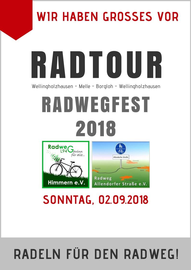 Radwegfest! Radtour 2018