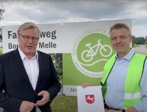 Anerkennung als Bürgerradweg durch das Land Niedersachsen