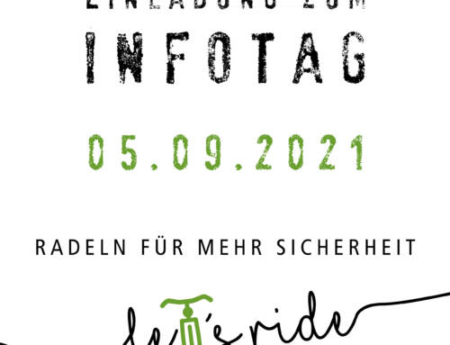 Let's Ride – Einladung zum Infotag